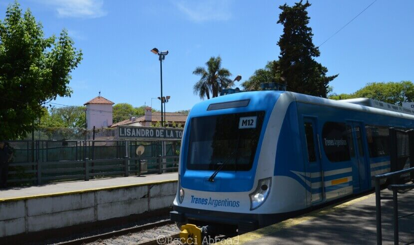 Blue tren to Tigre, Buenos Aires
