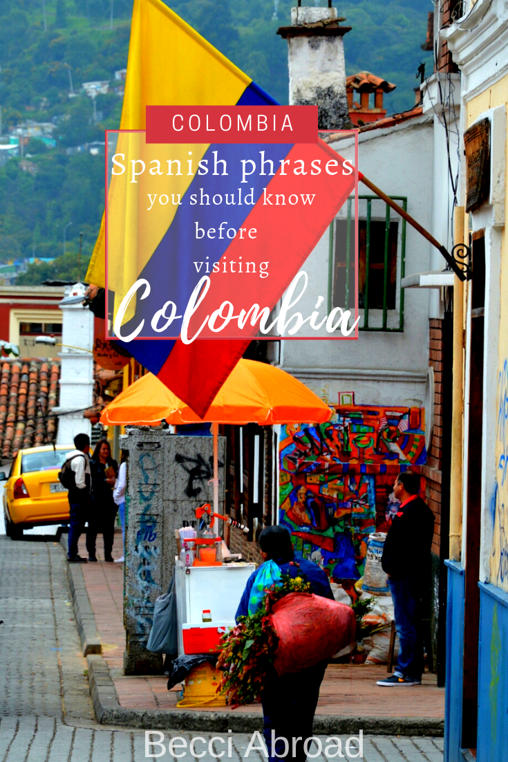 Brush up your Spanish with these 5 Colombian phrases, so you are completely prepared to be understood in Colombia