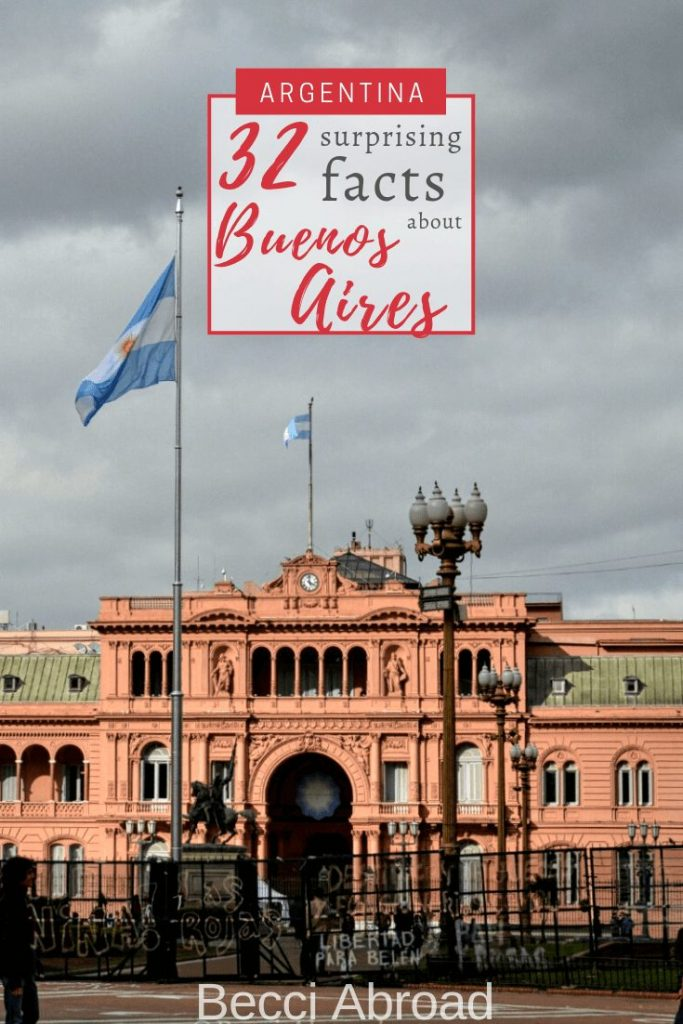 Get 32 informative things that nobody tells you about Buenos Aires - not the usual stuff about La Casa Rosada, La Boca and big steaks.