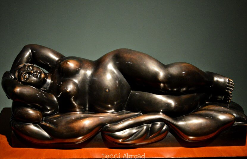 The best places in Colombia for enjoying the sculptures and art of the Colombian artist Fernando Botero.