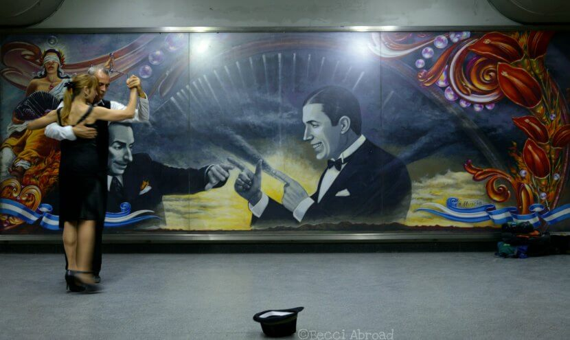 What does tango have to do with a subway system? In Buenos Aires quite a lot actually - Becci Abroad