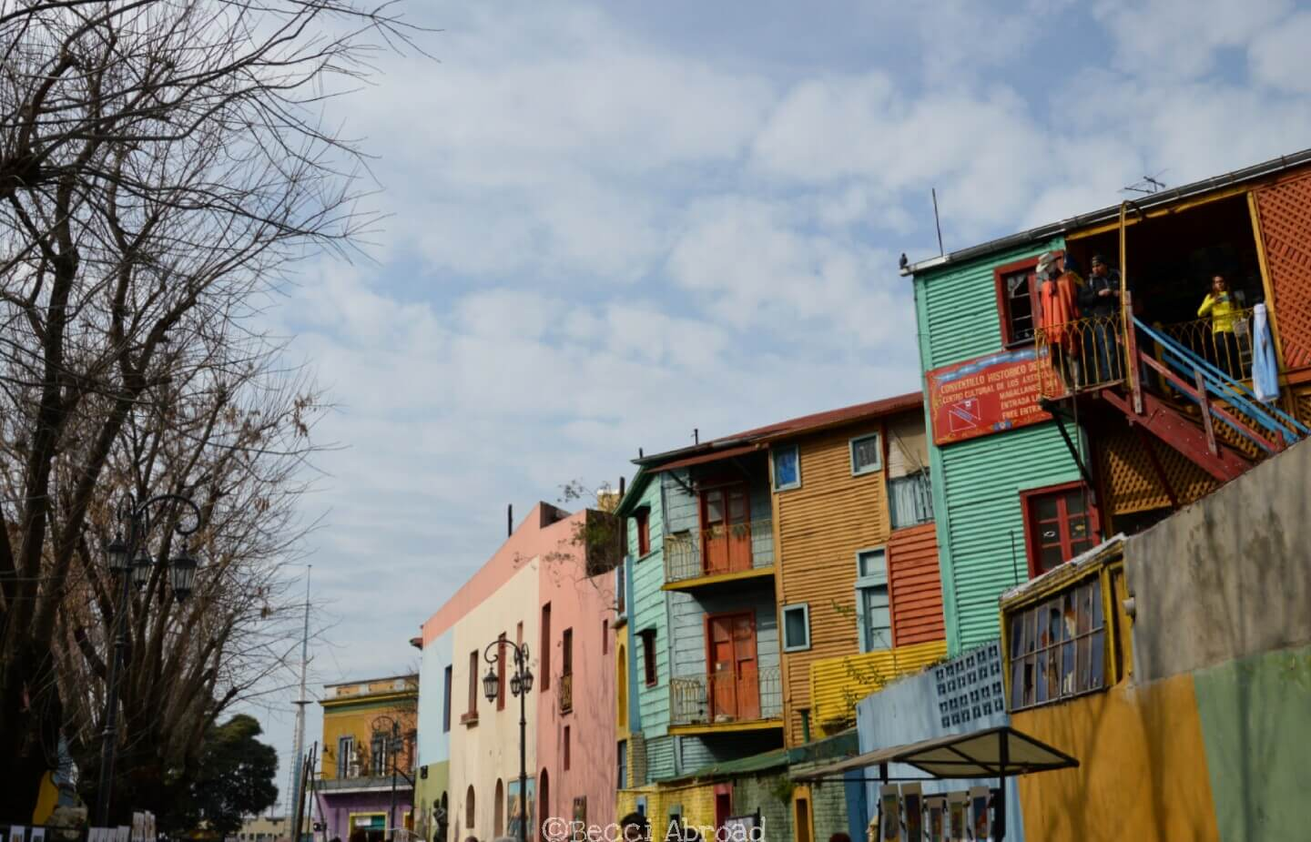 Is Buenos Aires' colorful La Boca neighborhood overrated or worth a visit? Find out more - Becci Abroad