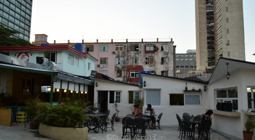 Explore some of my favorite modern spots in Havana that will almost make you doubt you are in Cuba