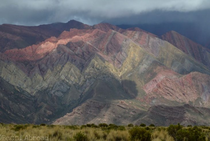 Cerro de Catorce Colores - mountain of 14 colors - in Jujuy, Argentina