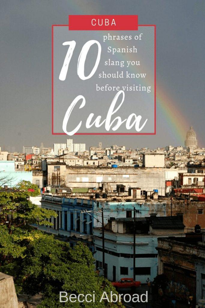 Cuban slang you should know before visiting Cuba