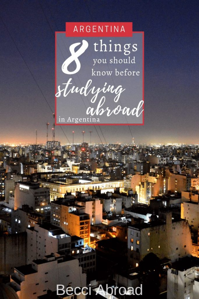 Planning your semester studying abroad, and thinking about Argentina? Check out my insider tips on been an exchange student in Argentina
