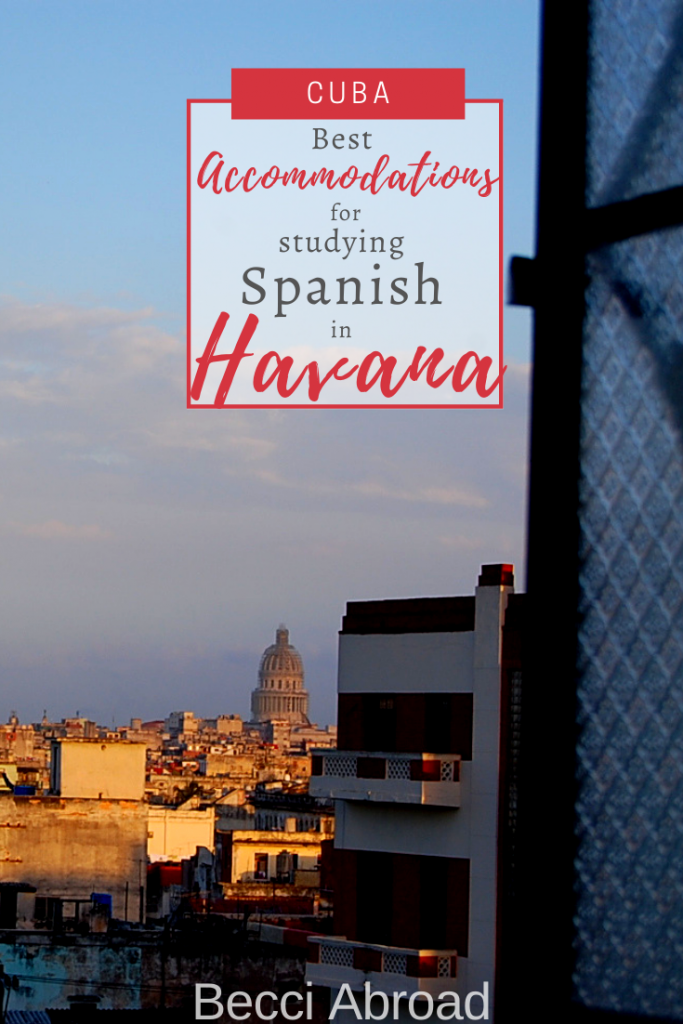 Are you coming to Havana to study at the University of Havana? Find inspiration for accommodation while you take Spanish courses at the University.
