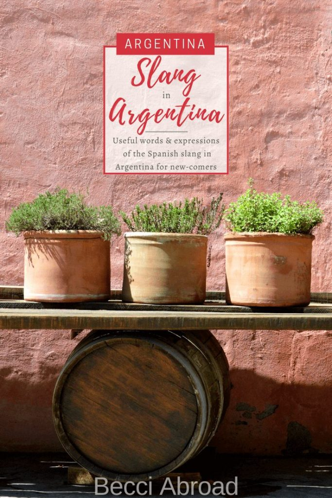 Spanish slang you should know before visiting Argentina