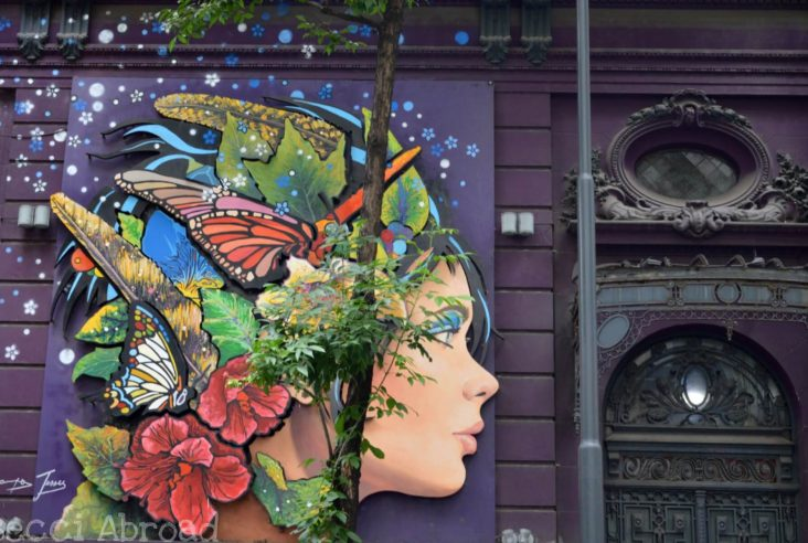 Street art that you can't miss when in Buenos Aires